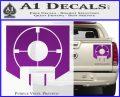 Call of Duty Deadshot Daiquiri Perk Decal Purple Vinyl 120x97