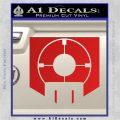 Call of Duty Deadshot Daiquiri Perk Decal Red Vinyl 120x120