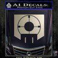 Call of Duty Deadshot Daiquiri Perk Decal Silver Vinyl 120x120