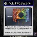 Call of Duty Deadshot Daiquiri Perk Decal Sparkle Glitter Vinyl 120x120
