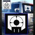 Call of Duty Deadshot Daiquiri Perk Decal White Emblem 120x120