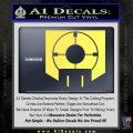 Call of Duty Deadshot Daiquiri Perk Decal Yelllow Vinyl 120x120