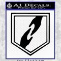 Call of Duty Whos Who Perk Vinyl Decal Black Logo Emblem 120x120