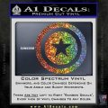 Captain USA Shield Decal Sticker Sparkle Glitter Vinyl 120x120