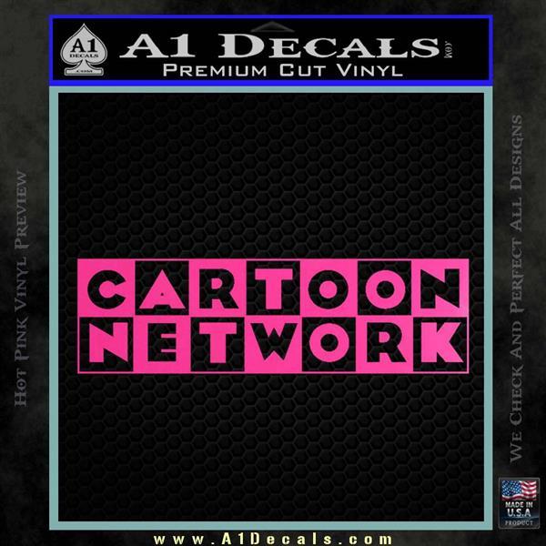 Cartoon Network Logo Rdz Decal Sticker  A1 Decals-5970