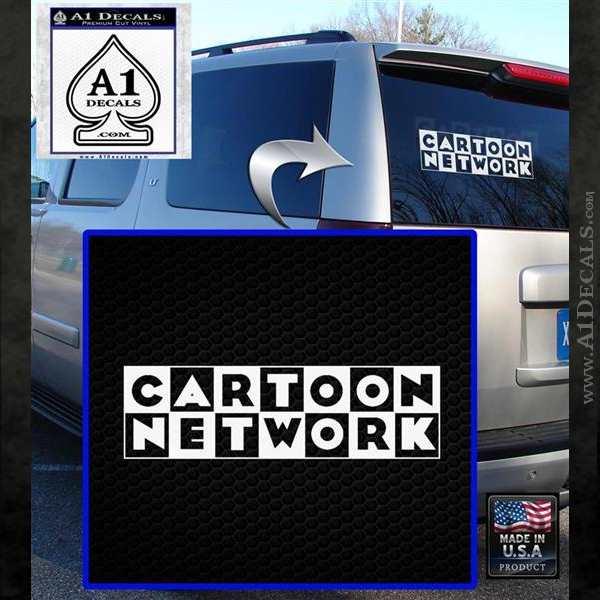 Cartoon Network Logo Rdz Decal Sticker 187 A1 Decals