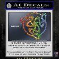 Celtic Knot Snake DS Decal Sticker Sparkle Glitter Vinyl 120x120