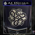 Celtic Knot Snake Decal Sticker DH Silver Vinyl 120x120
