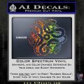 Celtic Knot Snake Decal Sticker DH Sparkle Glitter Vinyl 120x120