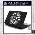 Celtic Knot Snake Decal Sticker DH White Vinyl Laptop 120x120