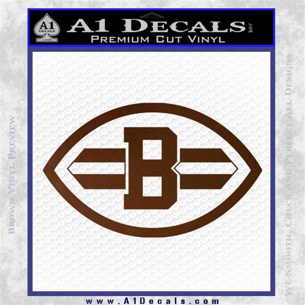 Cleveland Browns Nfl Decal Sticker 187 A1 Decals
