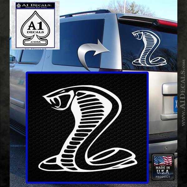 Cobra Exhaust Decal Sticker » A1 Decals