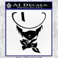 D Gray Man Allen Walker Anime Decal Sticker Black Logo Emblem 120x120