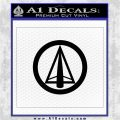 Dark Archer Malcolm Merlyn emblem DLB Decal Sticker Black Logo Emblem 120x120