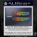 Ducati Wings Retro Decal Sticker Sparkle Glitter Vinyl 120x120