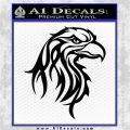 Eagle Tribal Decal Sticker Black Logo Emblem 120x120