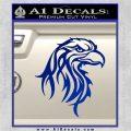 Eagle Tribal Decal Sticker Blue Vinyl 120x120