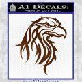 Eagle Tribal Decal Sticker Brown Vinyl 120x120