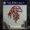 Eagle Tribal Decal Sticker Dark Red Vinyl 120x120