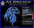 Eagle Tribal Decal Sticker Light Blue Vinyl 120x97