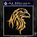 Eagle Tribal Decal Sticker Metallic Gold Vinyl 120x120