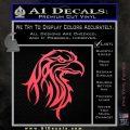 Eagle Tribal Decal Sticker Pink Vinyl Emblem 120x120