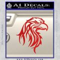Eagle Tribal Decal Sticker Red Vinyl 120x120