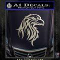 Eagle Tribal Decal Sticker Silver Vinyl 120x120