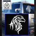 Eagle Tribal Decal Sticker White Emblem 120x120