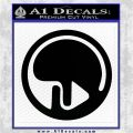 Eden of the East Decal Sticker CR1 Black Logo Emblem 120x120