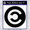 Eve Caldari Decal Sticker Black Logo Emblem 120x120