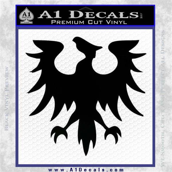 Eve Gallente Decal Sticker Black Logo Emblem