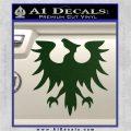 Eve Gallente Decal Sticker Dark Green Vinyl 120x120