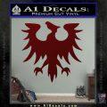 Eve Gallente Decal Sticker Dark Red Vinyl 120x120