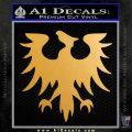 Eve Gallente Decal Sticker Metallic Gold Vinyl 120x120