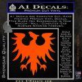 Eve Gallente Decal Sticker Orange Vinyl Emblem 120x120