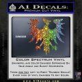 Eve Gallente Decal Sticker Sparkle Glitter Vinyl 120x120