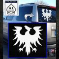 Eve Gallente Decal Sticker White Emblem 120x120
