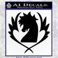Fairy Tail Blue Pegasus Decal Sticker Black Logo Emblem 120x120