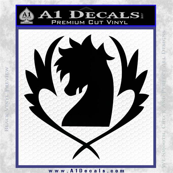 Fairy Tail Blue Pegasus Decal Sticker » A1 Decals