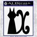 Fairy Tail Cait Shelter Decal Sticker Black Logo Emblem 120x120