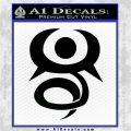 Fairy Tail Phantom Lord Guild Decal Sticker Black Logo Emblem 120x120