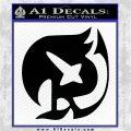 Fairy Tail Raven Guild Decal Sticker Black Logo Emblem 120x120