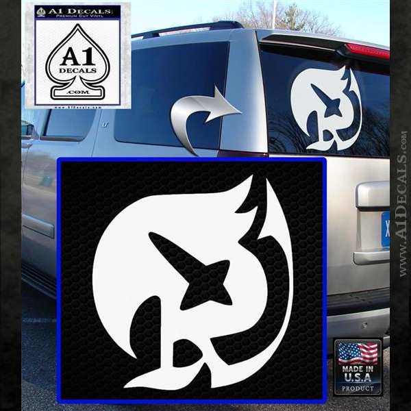 Fairy Tail Raven Guild Decal Sticker 187 A1 Decals