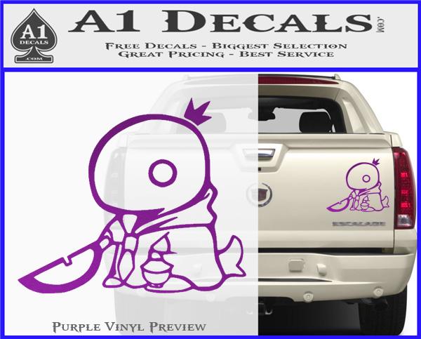 "Tonberry Star Final Fantasy Car Truck Bumper JDM Fun 6/"" Vinyl Decal Sticker"