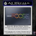 Foose Wheels Logo Vinyl Decal Sticker Sparkle Glitter Vinyl 120x120