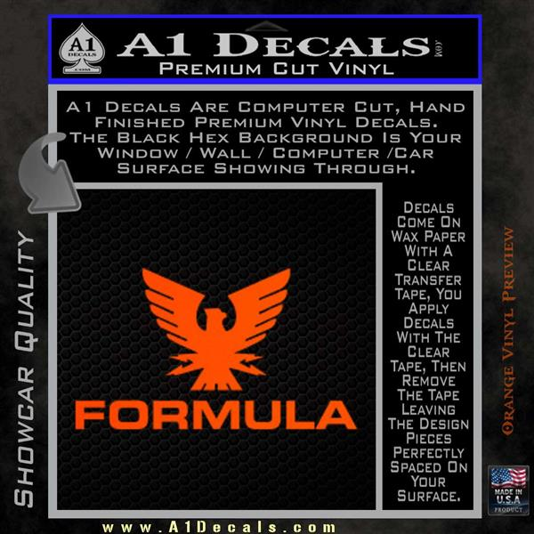 Formula Boats Decal Sticker D A Decals - Custom boat decals easy removal