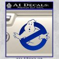Ghostbuster Vinyl Decal Sticker CR Blue Vinyl 120x120