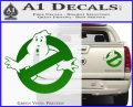 Ghostbuster Vinyl Decal Sticker CR Green Vinyl 120x97