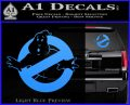 Ghostbuster Vinyl Decal Sticker CR Light Blue Vinyl 120x97